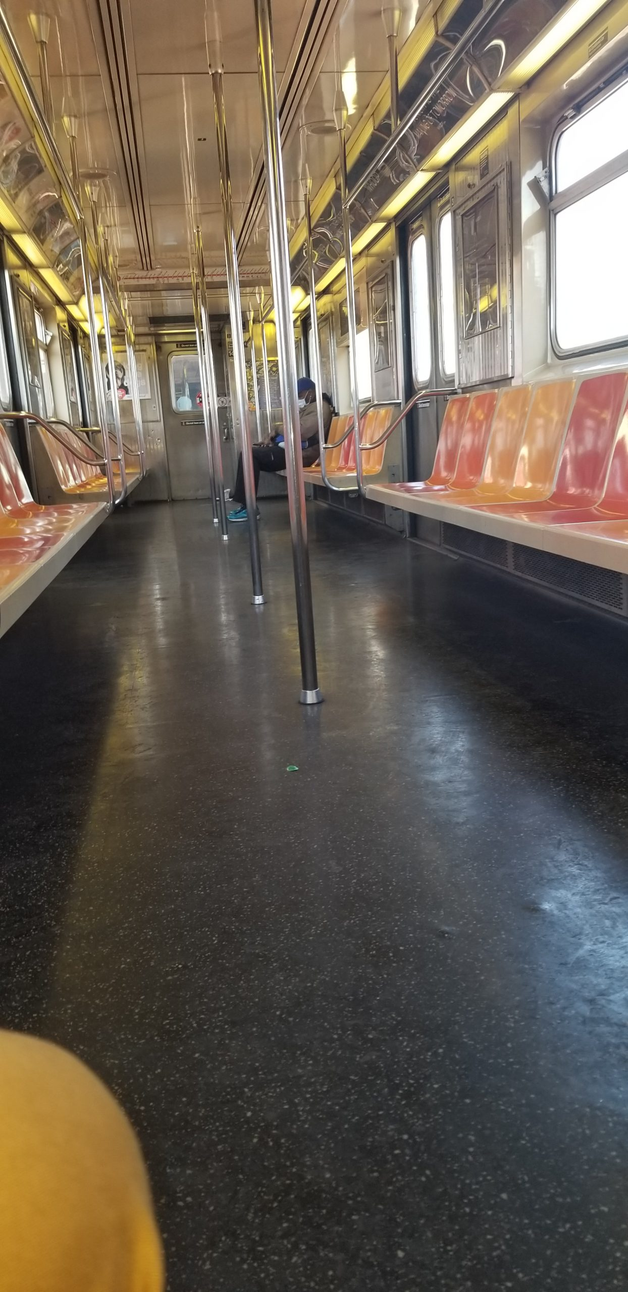 NYC Train COVID-19