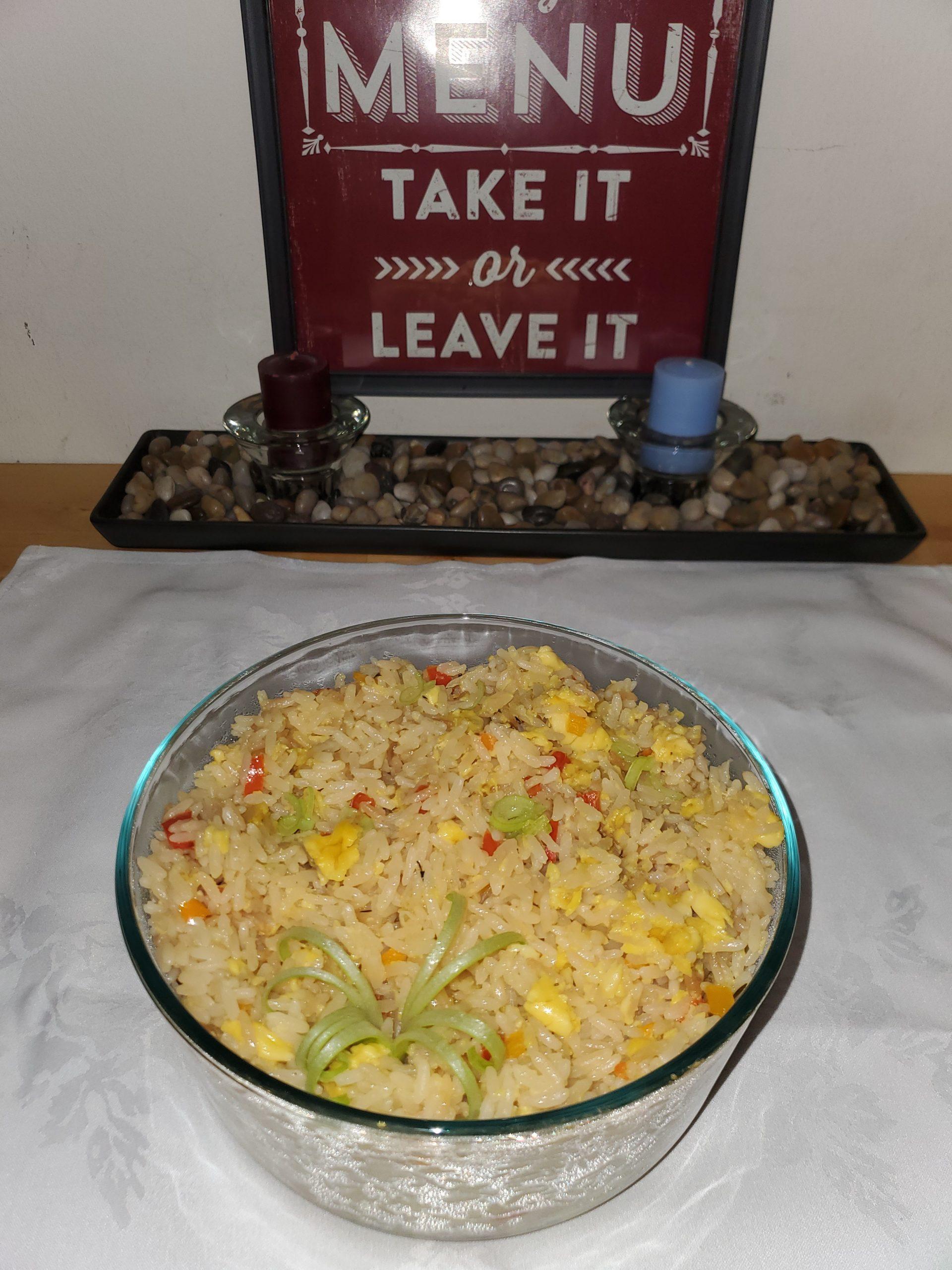 rice seasoned
