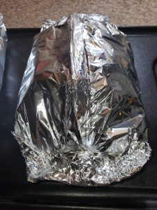 aluminium pouch