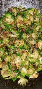 balsamic brussels sprouts