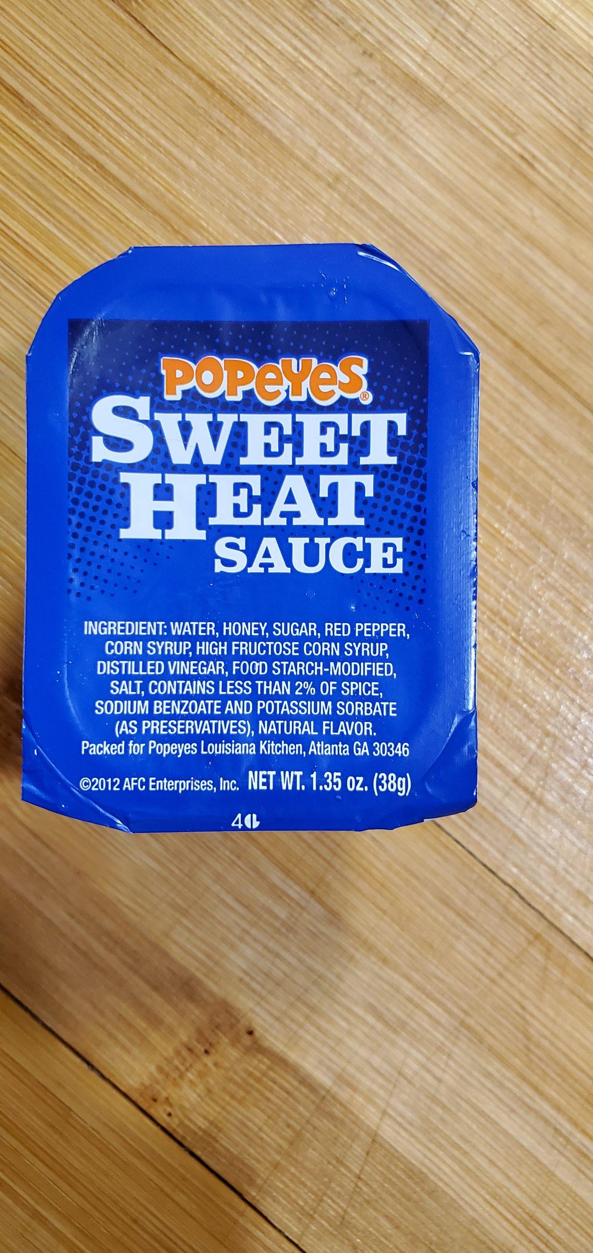 popeyes sweet heat sauce