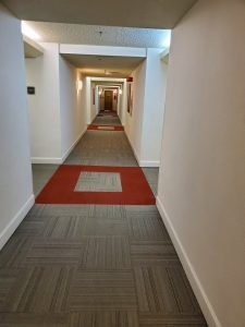 Hotel Room hallway