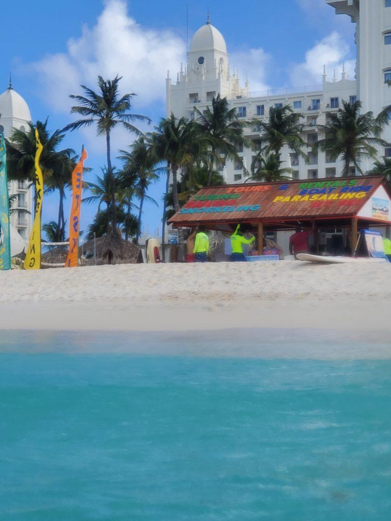 boat excursions in aruba
