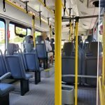 inside aruba public bus