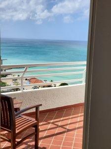 Hotel Room Balcony
