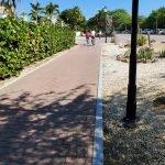 riding a bike in aruba