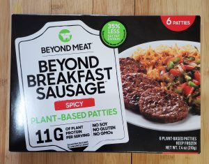 beyond meat spicy sausage