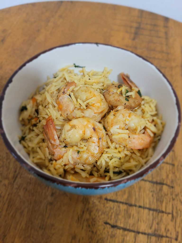 Basmati Shrimp rice