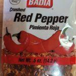 badia red pepper flakes
