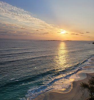 Paradise Island Beach, Bahamas sun rise