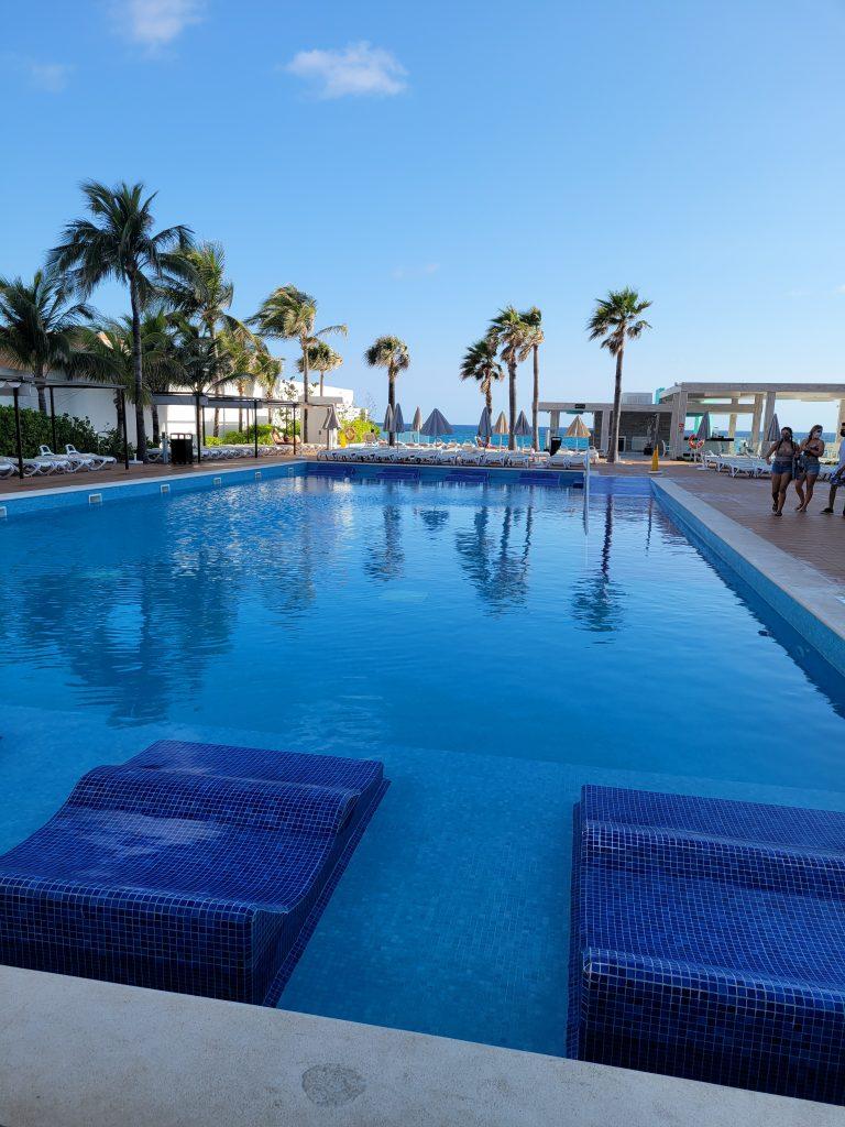 RIU resort swimming pool