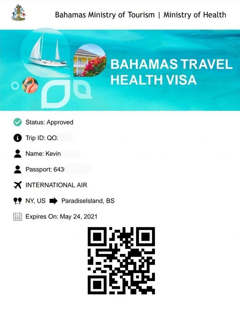 The Bahamas Health Visa