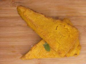 fried polenta cake