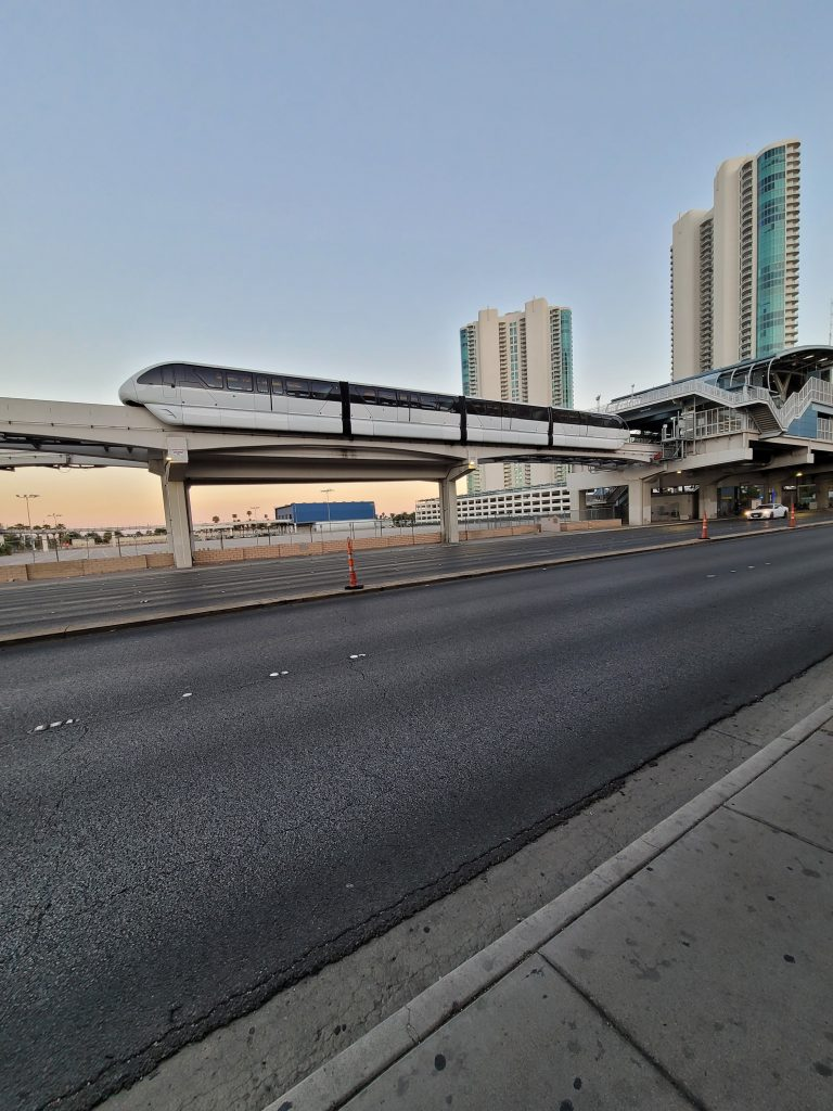 Sahara Hotel Las Vegas monorail