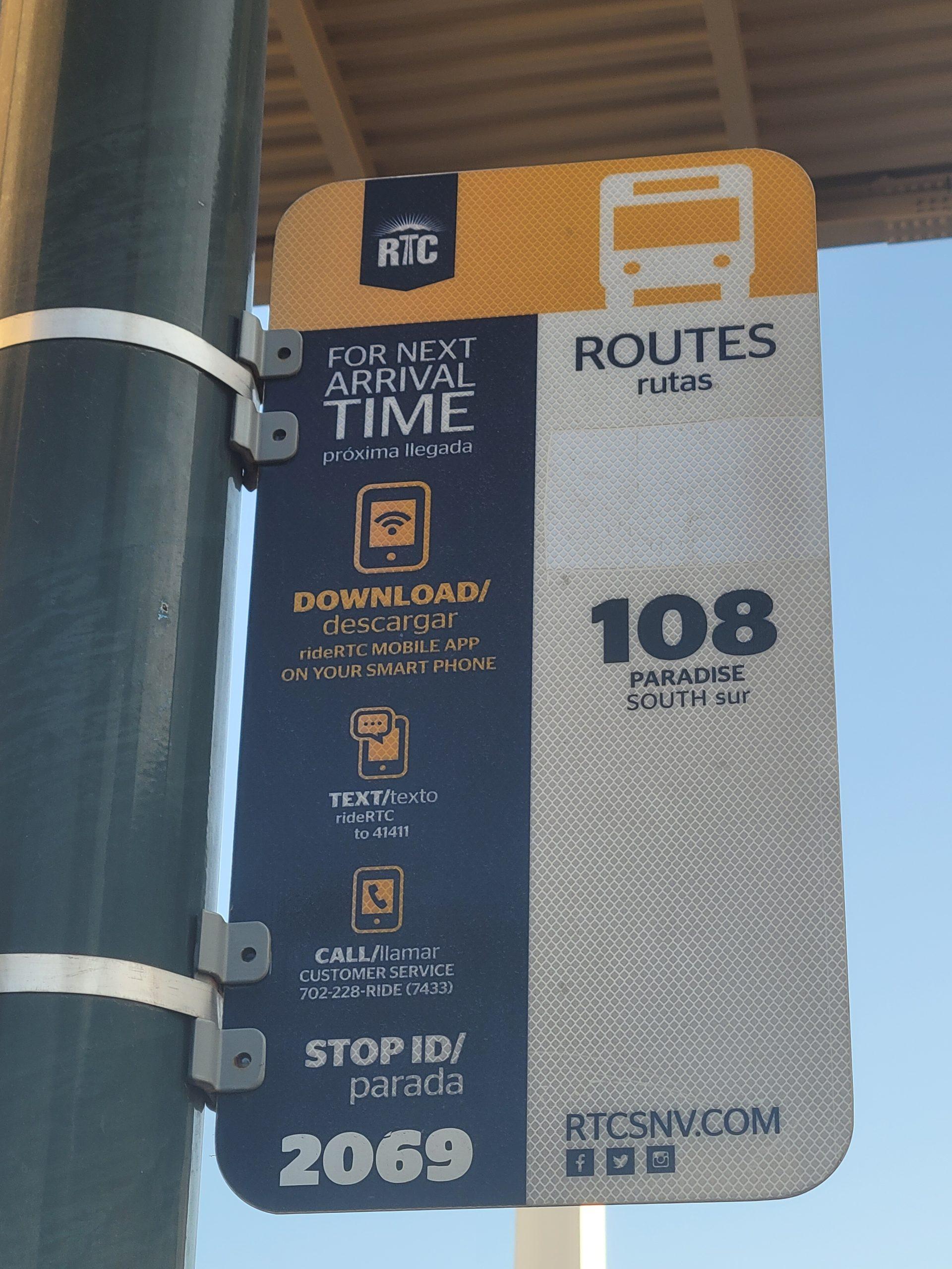 Las Vegas public Bus