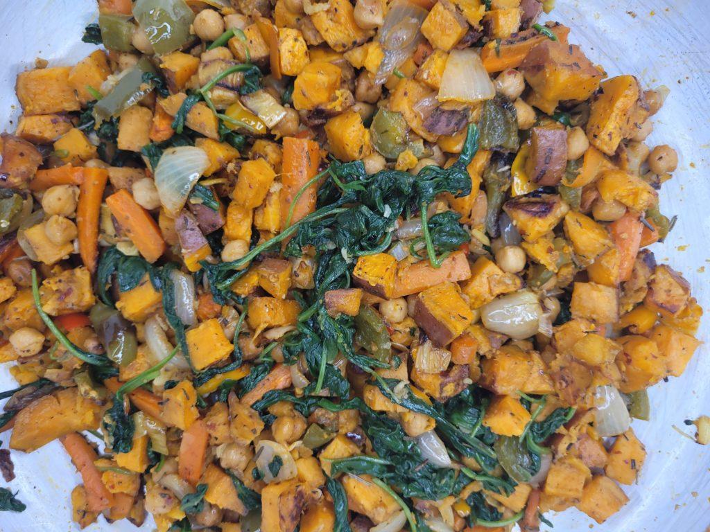 Vegan Roasted Sweet Potato Salad